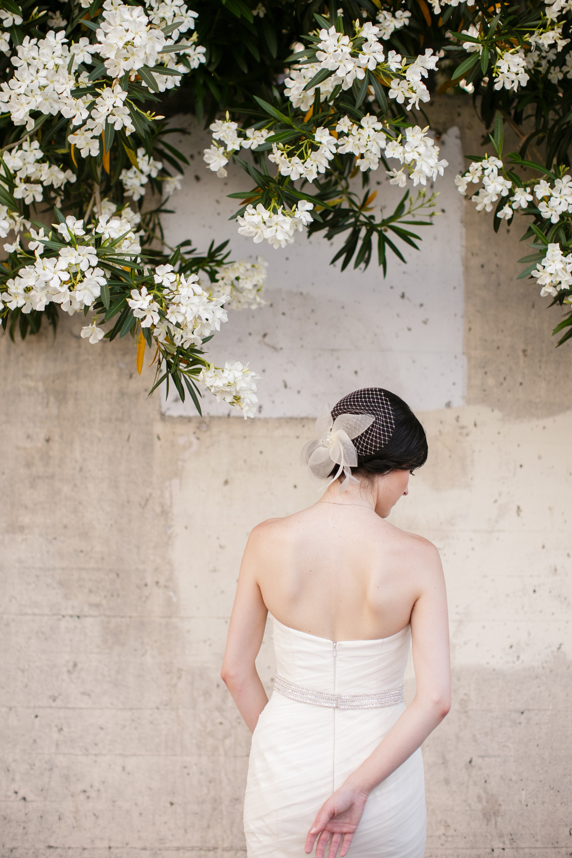 Bride in French Quarter
