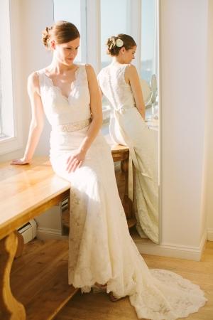 Bride in Watters Gown