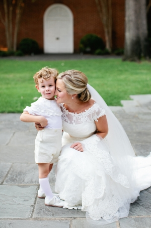 Bride with Ring Bearer