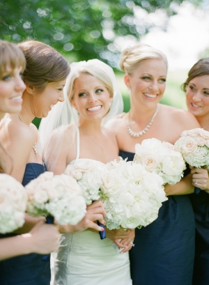 Classic All White Bouquets