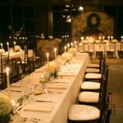 Classic Cream Reception Tables
