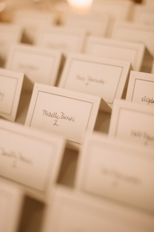Classic Folded Place Cards