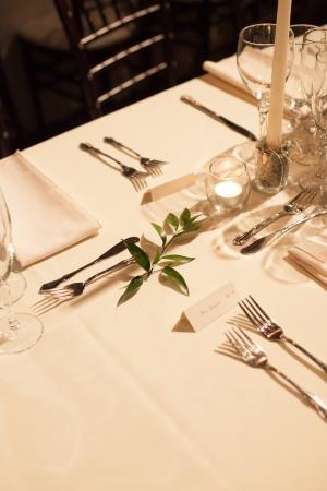 Classic Reception Table Decor