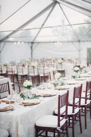 Classic Tented Wedding Reception