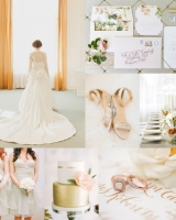 Copper and Sage Wedding Colors