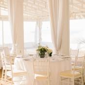 Cream Wedding Reception