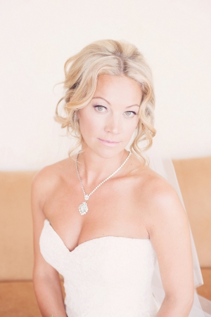 Diamond Drop Necklace Bridal Jewelry