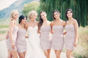Dusty Lavender Bridesmaids Dresses