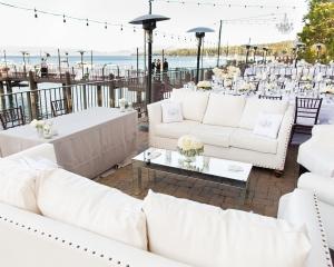 Elegant Seating Waterfront Reception