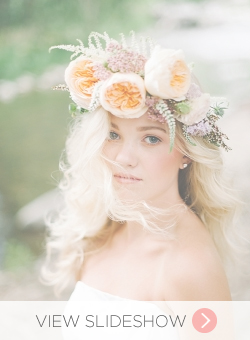Flower Crowns for Brides
