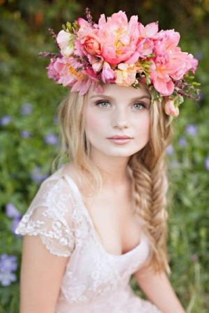 Garden Inspired Floral Crown