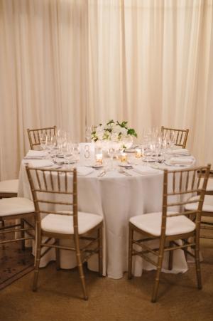 Gold Chiavari Chairs Reception Ideas