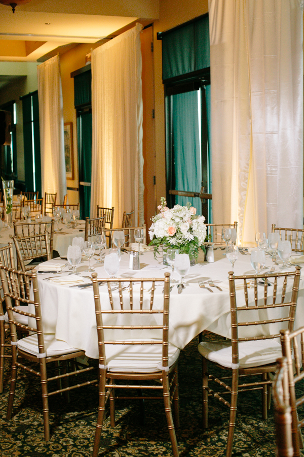 Gold and Ivory Reception