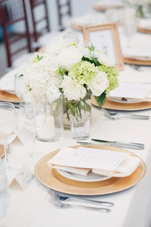 Green and Ivory Tabletop