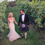 Groom in Kilt