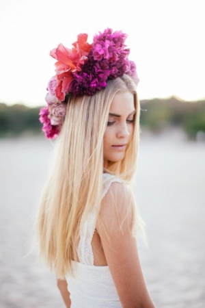 Hibiscus Flower Crown