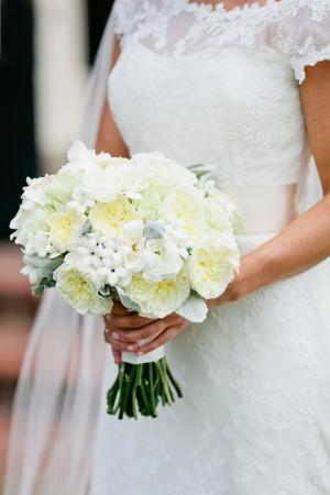 Ivory Peony Bridal Bouquet
