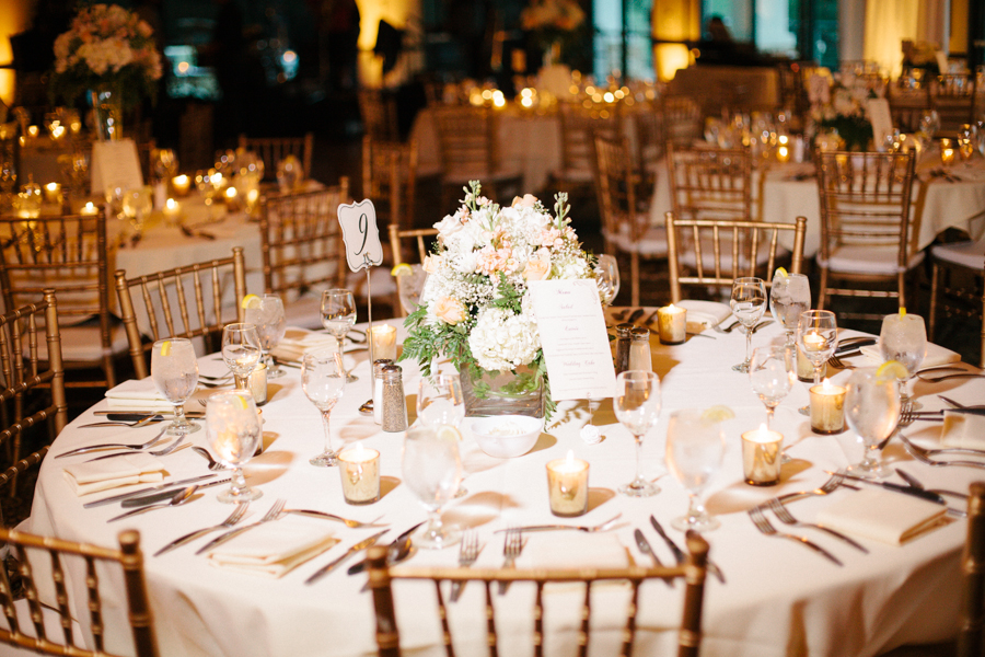 Ivory And Blush Centerpiece Elizabeth Anne Designs The