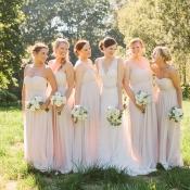 Jenny Yoo Pink Bridesmaids