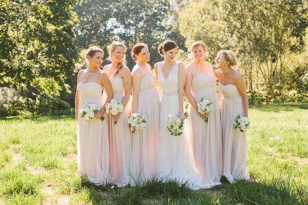 b02fe8507f Jenny Yoo Pink Bridesmaids - Elizabeth Anne Designs  The Wedding Blog