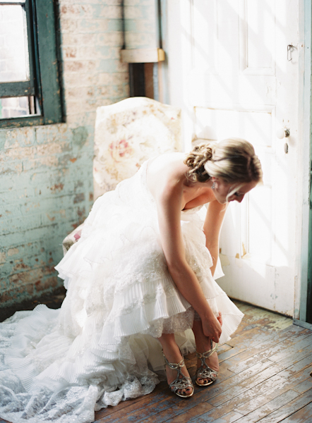 Lace Michelle Roth Gown