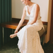 Lace Watters Gown