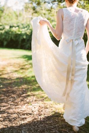 Lace Watters Wedding Dress