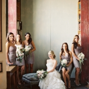 Lazaro Bridesmaids Dresses
