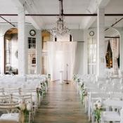 Loft Style Wedding Ceremony