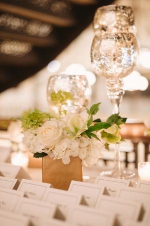 Mercury Glass Candlesticks Wedding Decor