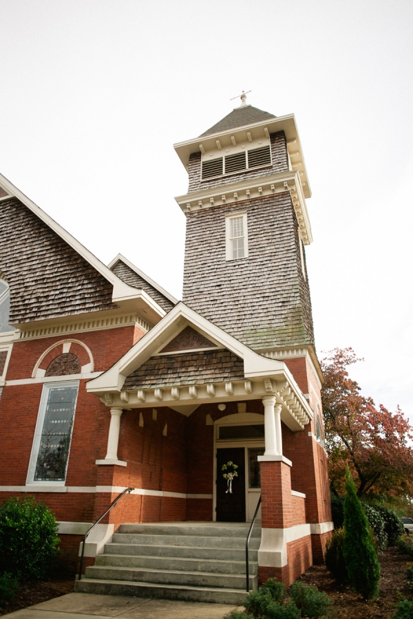 Methodist Church Auburn Alabama Ceremony Venue