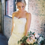 Michelle Roth Lace Gown