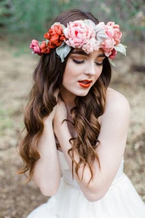 Mignonne Handmade Silk Floral Crown