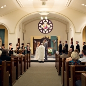 Minneapolis Church Wedding Ceremony