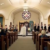 Minneapolis Church Wedding Ceremony