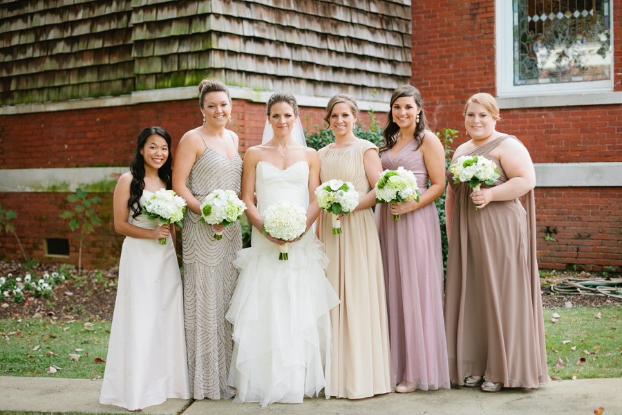 Neutral Elegant Outdoor Wedding: Elizabeth Anne Designs: The