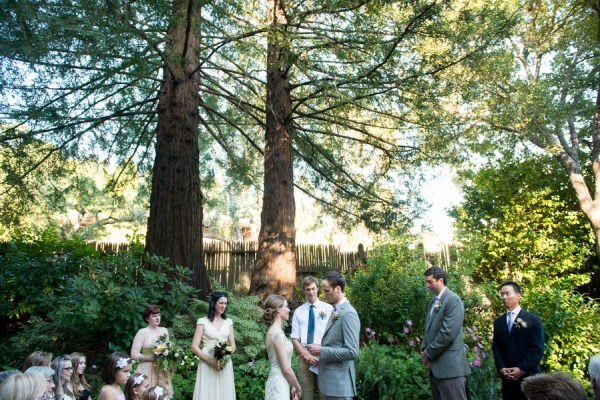Outdoor Mill Valley Wedding Ceremony