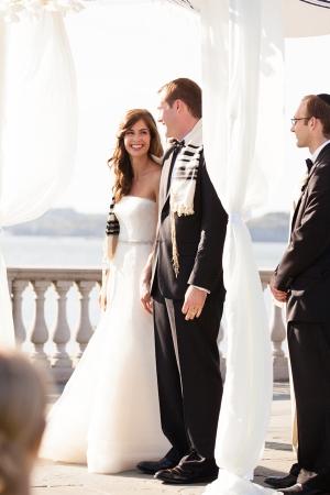 Outdoor Wedding Ceremony in Rhode Island