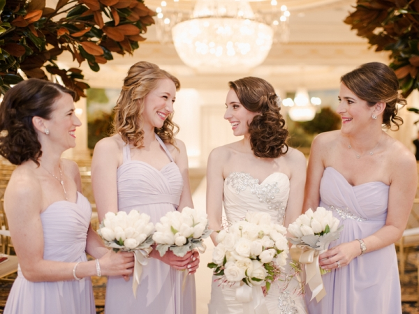 Pale Lavender Bridesmaids Dresses1