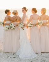 Pink Jenny Yoo Bridesmaids
