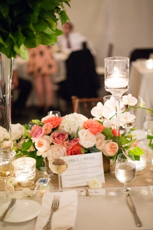 Pink Rose Centerpiece1