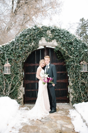 Pretty Winter Wedding Inspiration