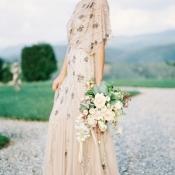 Romantic Beaded Bridal Gown