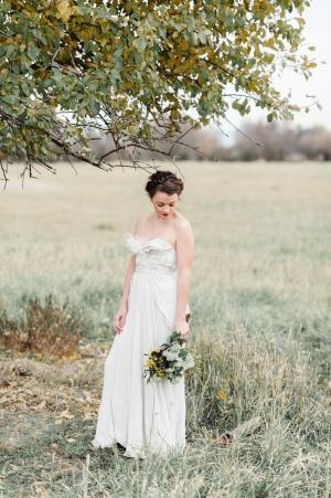 Rustic Elegant Bride
