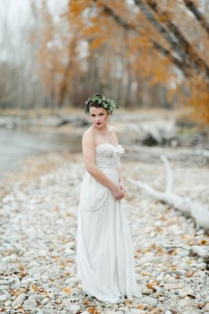 Rustic Fall Bride