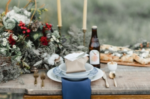 Rustic French Inspired Tabletop