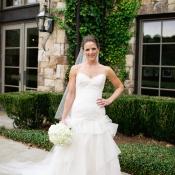 Scissor Sheared Bridal Gown