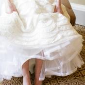 Silver Metallic Bridal Heels
