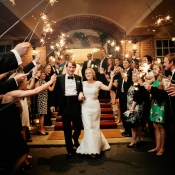 Sparkler Exit From Reception