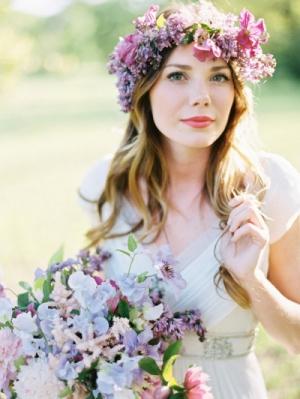 Spring Floral Crown